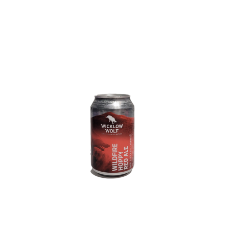 WILDFIRE HOPPY RED ALE WICKLOW WOLF 4.6° 33CL